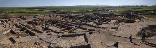 panorama israel site negev beersheva ironage archaia