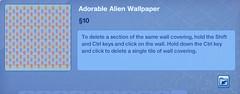 Adroable Alien Wallpaper