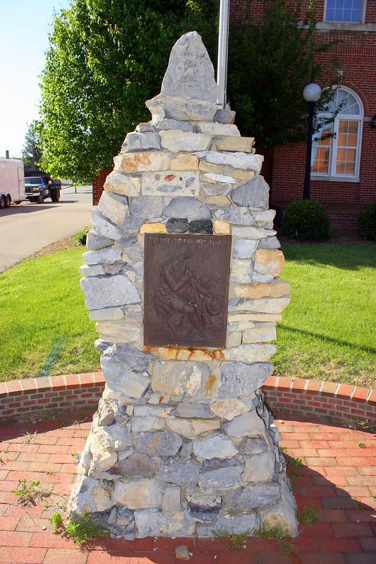 Boone Trail Highway Marker - Wytheville, VA