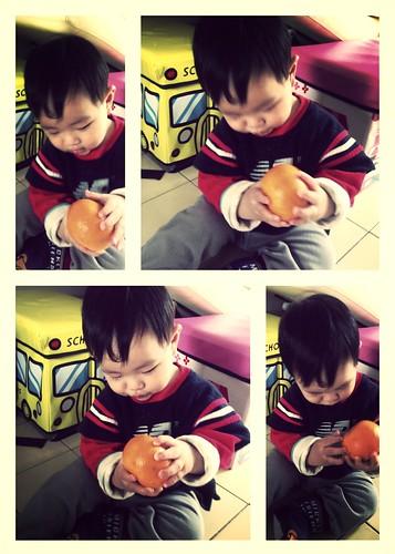 63 吃橘子