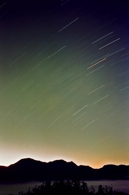 大雪山 春夜星軌