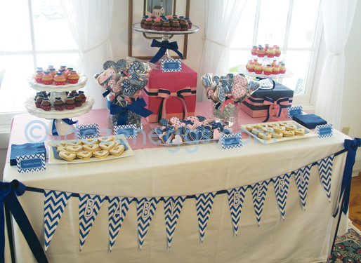baby shower dessert table flickr photo sharing