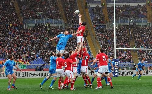 La touche azzurra ha funzionato contro il Galles