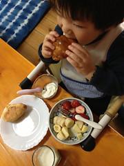 昼御飯 2013/2/24