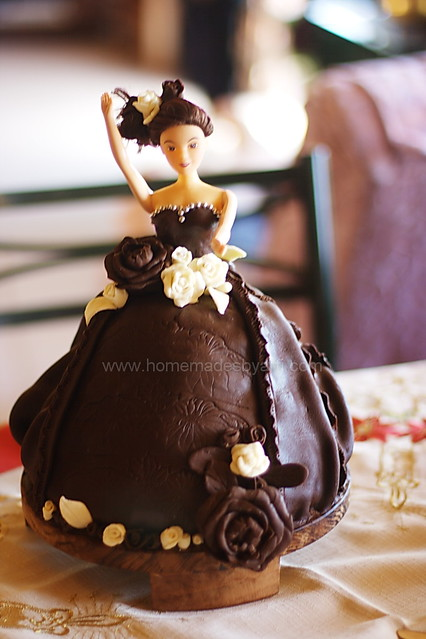 Barbie Chocolate Cake Images : HomeMadeS: My First Barbie Cake: All About Chocolate