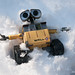 Snow Wall-E Angel