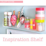 Inspiration shelf