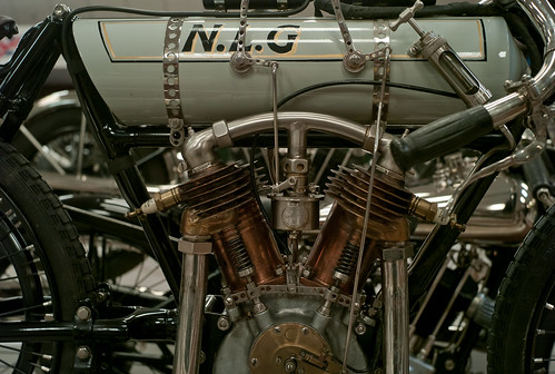 NMM N.L.G. 1,000cc V twin Peugeot, Brooklands record breaker 1906, a true pioneer. by John Gulliver
