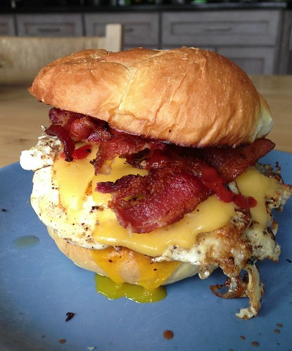 NY-style bacon egg & cheese