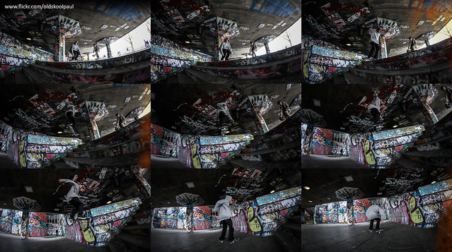 Dave Wallace - Switch Backside Tailslide - Southbank - London