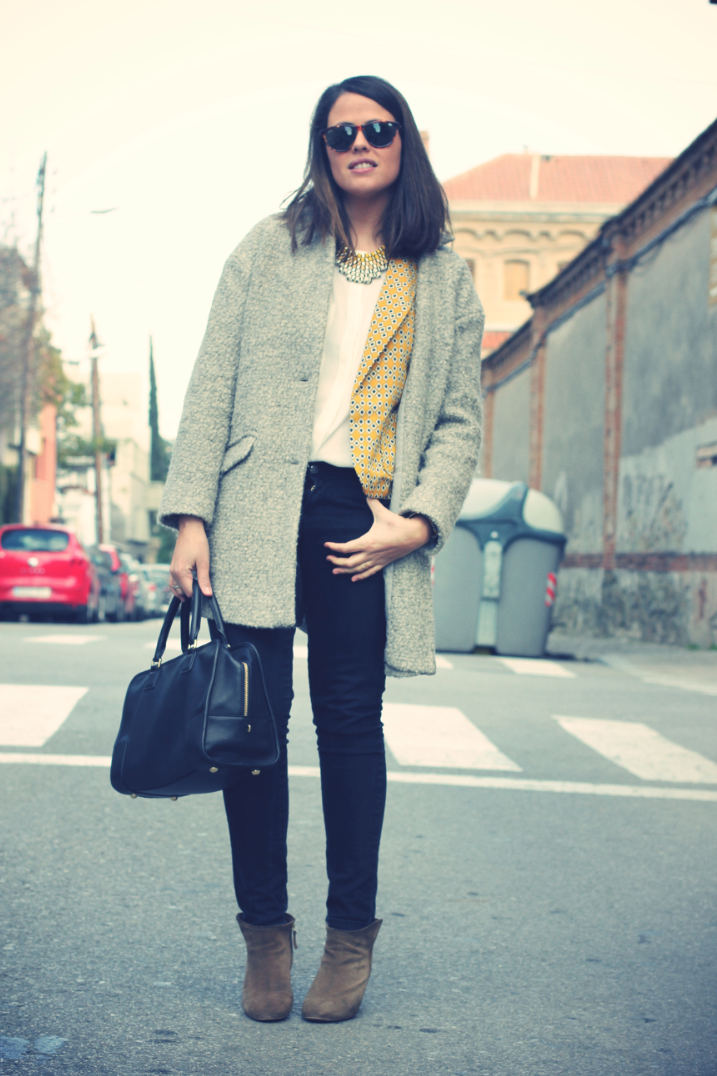 Look Blazer amarillo - monicositas