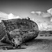 Shipwreck at Crow Point, Devon by Dave-G