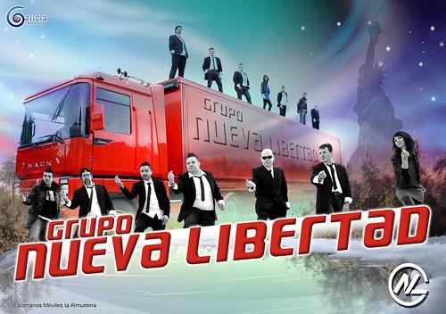 Nueva Libertad 2013 - grupo - cartel