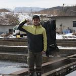 八千穂漁業の佐々木隆文さん