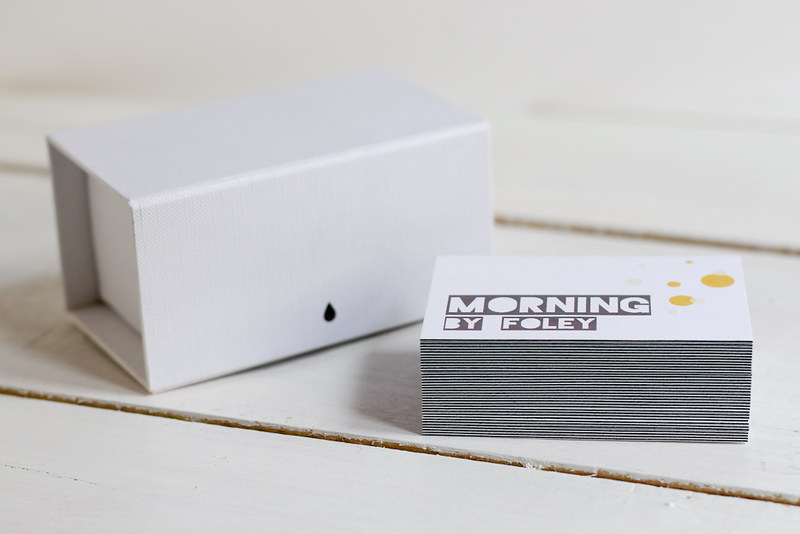 Luxe Business Cards by Moo DIY case