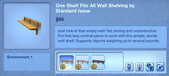 One Shelf Fits All Wall Shelving by Standard Issue
