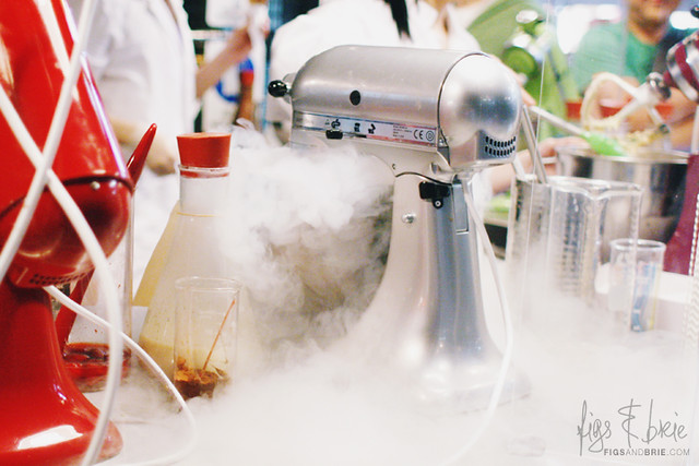 Liquid nitrogen churning, N2 Extreme Gelato