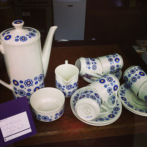 #platewatch in Edinburgh Scotland #teaset