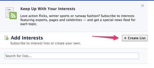 Add Interests
