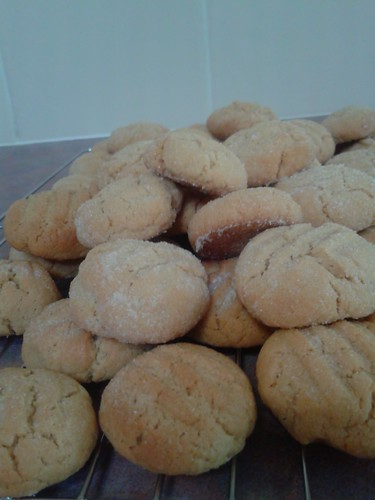Peanut Butter Cookie pile!