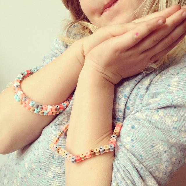 Perler Bead Bangles