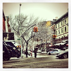 Nothing is prettier than the East Village when it's snow-capped.
