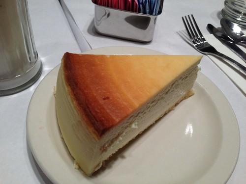 York-style cheesecake