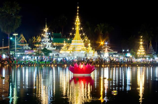 Loi Krathong Festival (Mae Hong Son, Thailand)