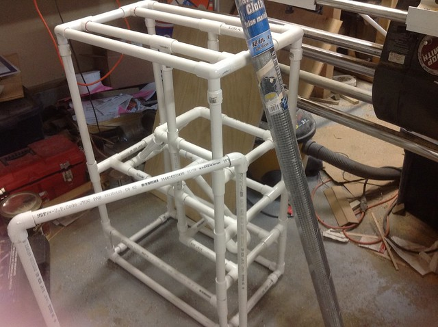 Wanting To Make Homemade Rat Cage Pvc Pipe Wire Mesh And