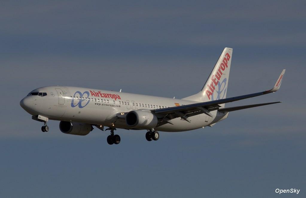 Air Europa Boeing 737-86Q(WL) EC-IDA (cn 32773)