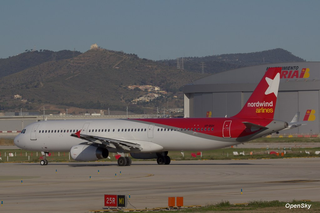 Nordwind Airlines Airbus A321-232 VP-BGH (cn 3034