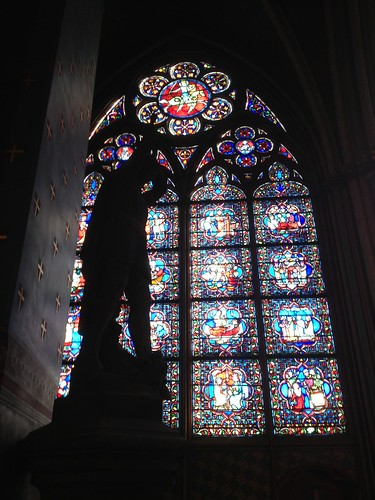 Stained glass, Notre Dame