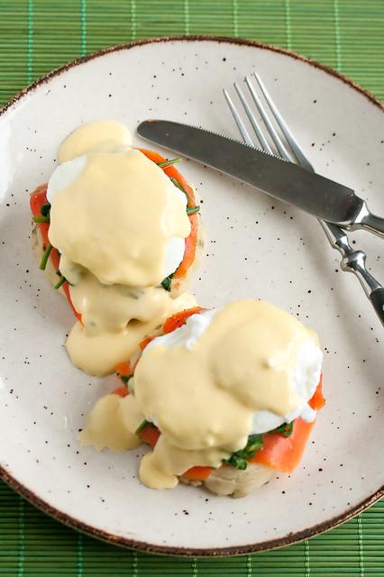 Irish Eggs Benedict aka Eggs St Patrick