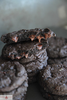 Dark Chocolate Guinness Cookies