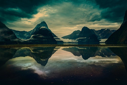 Through The Mists of Milford Sound