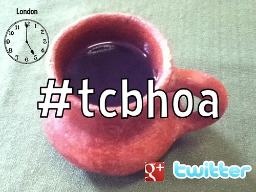 Wednesdays, 5pm London Time: Travel Coffeebreak Hangout on Air #tcbhoa on Google+, Twitter and YouTube @alastairmck