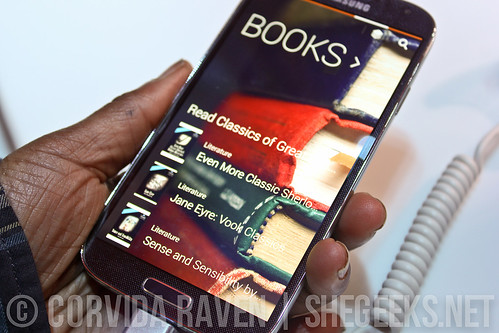 Samsung Galaxy S4 - Samsung Hub for Books