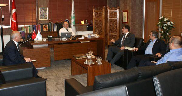 Gençlik ve Spor Bakanlığı'ndan Üsküdar Üniversitesi'ne ziyaret