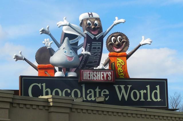 Image result for Hershey Chocolate World Hershey PA