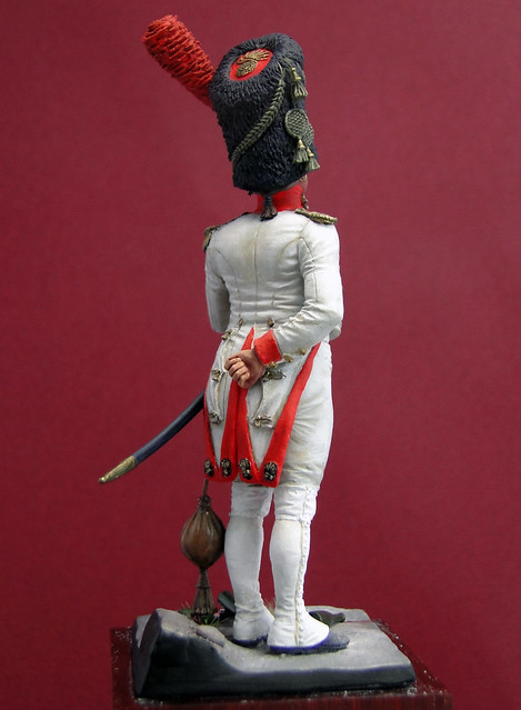 Oficial Granaderos Holandés, Guardia Imperial, 1804-1812 - Art Girona 8563331878_45ce08b6d1_z