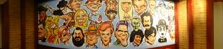 Image of  Muralla de Cartagena  near  Cartagena. southamerica wall colombia fastfood restaurante characters cartagena muralla sudamerica caricaturas personajes elcorral cartagenadeindias sothamerica