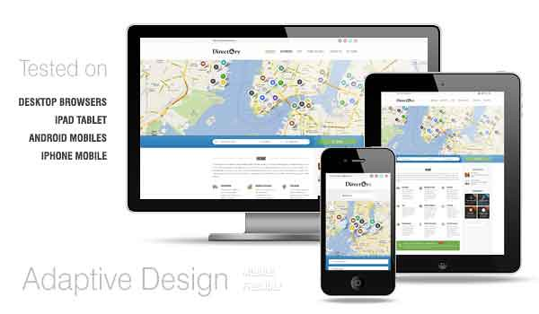 Directory Portal WordPress Theme With Multi city Geolocate Features