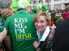Kiss Me I'm Irish Katy at St Patricks Day Parade - Hot Springs, AR