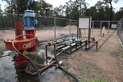 Decommissioned CSG well, Pilliga Forest, December 2011