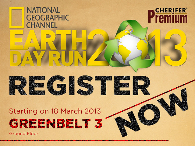 the running enthusiast  natgeo earth day run 2013