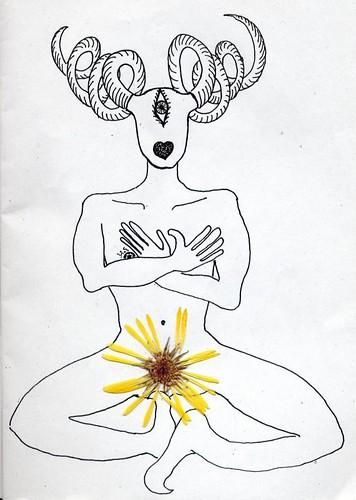 selfportrait alla calendula by yapwilli
