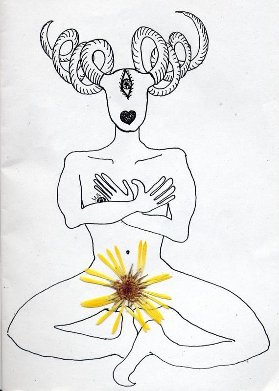 selfportrait alla calendula