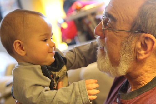 Elliott and Grandpa