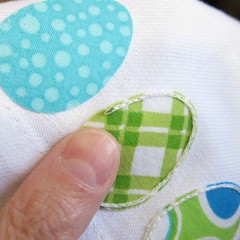 Easy Easter Egg Napkins