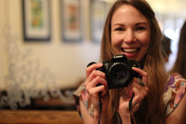 rachel with camera